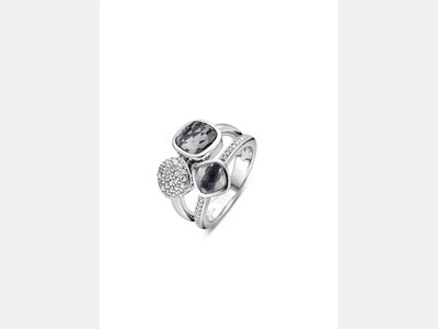 ring - TI SENTO   zilver