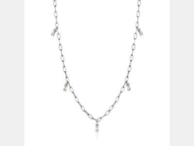 ketting met hanger - ANIA HAIE | zilver