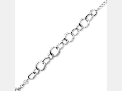 armband - NAIOMY | zilver