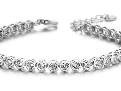 armband - S ROSE | zilver