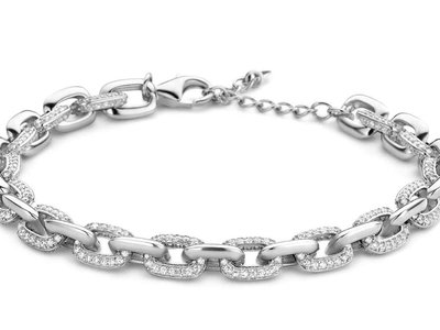 armband - S ROSE   zilver