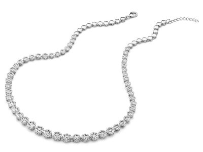 ketting - S ROSE | zilver