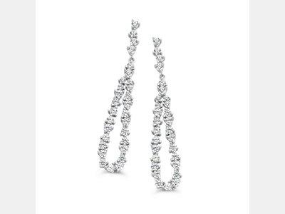 oorbellen - S ROSE | zilver