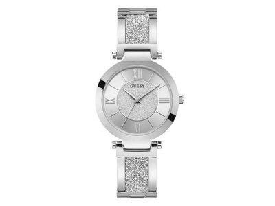 uurwerk - GUESS | zilver