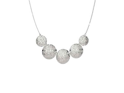 ketting - REBECCA | zilver