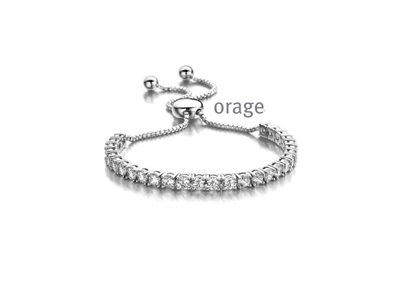 armband - ORAGE   zilver