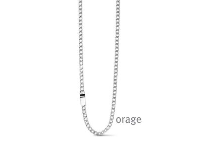 ketting met hanger - ORAGE | staal