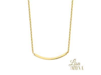 ketting met hanger - ORAGE | goud 14 kt