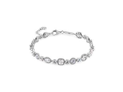 armband - NONA | zilver