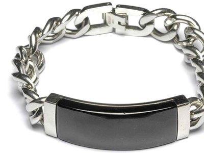 armband - GEMINI | staal