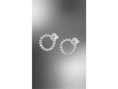 oorbellen - LOTUS   zilver
