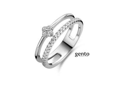 ring - GENTO | zilver