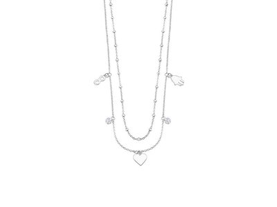 ketting met hanger - LOTUS | zilver