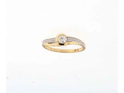 ring - BEHEYT   goud 18 kt