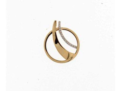 ketting met hanger - BEHEYT | goud 18 kt