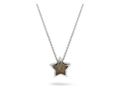 ketting met hanger - SEE YOU | zilver