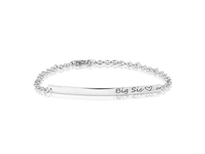 armband - SEE YOU   zilver