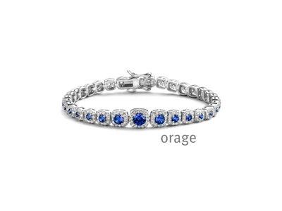 armband - ORAGE | zilver