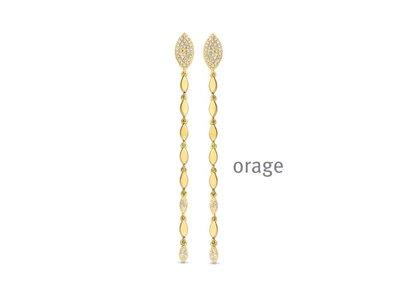 oorbellen - ORAGE | plaque