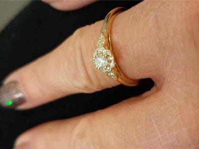 ring - RIVER MOUNTS | goud 18 kt