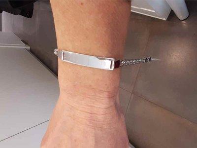 armband - LAETITIA JEWELS | zilver
