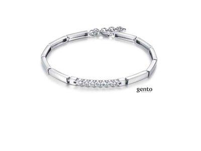 armband - GENTO | zilver