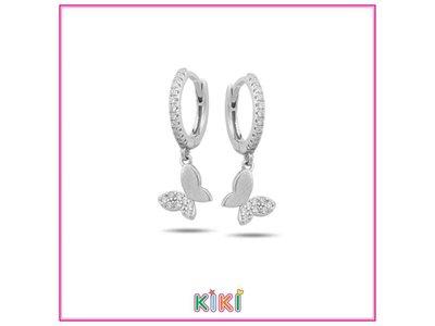 oorbellen kids - KIKI | zilver