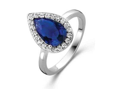 ring - S ROSE | zilver