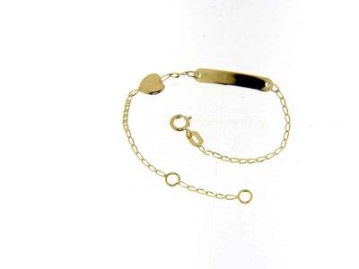 armband kids - JACQUES KONIG | goud 18 kt
