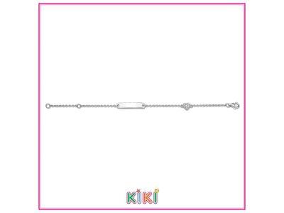 armband kids - KIKI | zilver