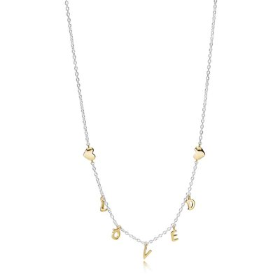 ketting met hanger - PANDORA | zilver
