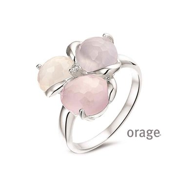 ring - ORAGE | zilver