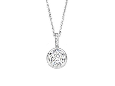 ketting - TI SENTO | zilver