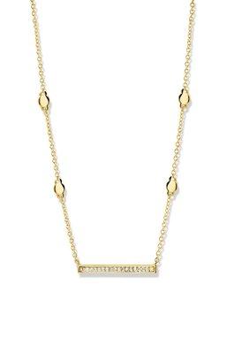 ketting met hanger - FAB | goud 18 kt