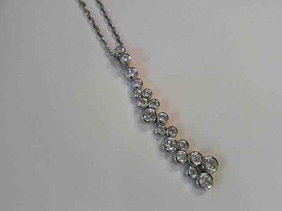 ketting met hanger - GENTO   zilver