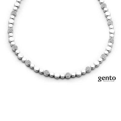 ketting - GENTO | zilver