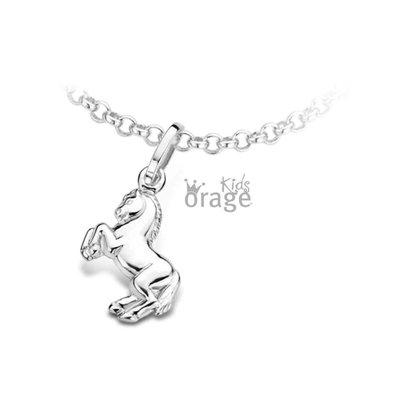 ketting met hanger - ORAGE   zilver