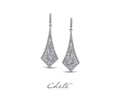 oorbellen - ROCCA | zilver