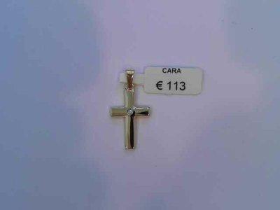 hanger - CARA | goud 18 kt